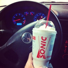Photo taken at SONIC Drive In by Robert D. on 5/28/2012