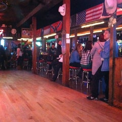 Photo taken at Cowboy Palace Saloon by Angelina R. on 3/18/2012