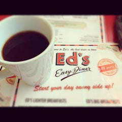 Photo taken at Ed's Easy Diner by Dave B. on 4/10/2012