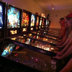 Photo taken at CP Pinball by Jenna G. on 7/14/2012
