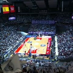 Photo taken at Barclaycard Center - Palacio de Deportes de la Comunidad de Madrid by Javier C. on 6/2/2012