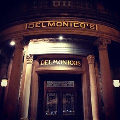 Photo taken at Delmonico's Restaurant Steak House Grill by Sean F. on 9/8/2012