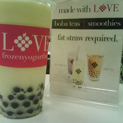 Photo taken at LOVE Frozen Yogurt Bar by E- C. on 1/31/2012