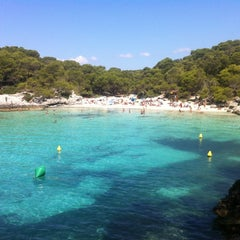 Photo taken at Cala Turqueta by Jagoba G. on 8/12/2011
