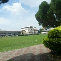 Photo taken at SMK Gajah Berang by Ahmad S. on 5/17/2012