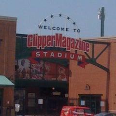 Photo taken at Clipper Magazine Stadium by Diane H. on 7/5/2011