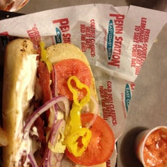 Photo taken at Penn Station East Coast Subs by Gemini K. on 2/1/2012