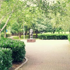 Photo taken at Elthorne Park by Luiz M. on 7/31/2012