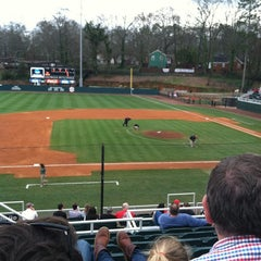 Photo taken at Foley Field by Courtney W. on 2/22/2012