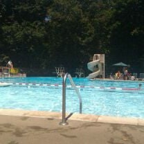 Photo taken at Old Orchard Swim Club by Robert S. on 7/26/2011