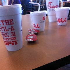 Photo taken at Chick-fil-A by Nate H. on 11/1/2011