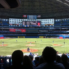 Photo taken at Rogers Centre by Karyn S. on 5/20/2012