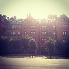 Photo taken at Desmond Tutu Center by Kara J. on 8/24/2012