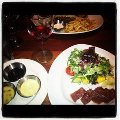 Photo taken at Rutherford Grill by Danica S. on 7/31/2012