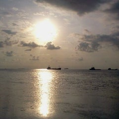 Photo taken at Gazzebo Pinggir Laut by firmana A. on 6/2/2012