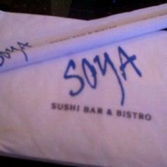 Photo taken at Soya Sushi by Nile G. on 12/11/2011