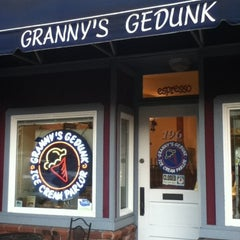 Photo taken at Granny's Gedunk Ice Cream Parlor by Malek E. on 7/29/2011