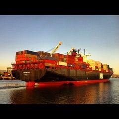 Photo taken at San Francisco Bay Ferry - Alameda Main Street Terminal by Russ M. on 2/24/2012