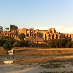 Photo taken at Circo Massimo by Francesco M. on 8/22/2012