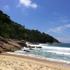 Photo taken at Praia Vermelha do Centro by Serginho R. on 2/18/2012