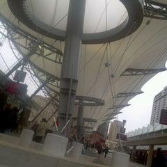 Photo taken at Rosa Parks Transit Center by Nkosi F. @. on 12/20/2011