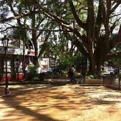 Photo taken at Praça Vilaboim by Paula V. on 9/13/2011