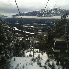Photo taken at Whistler Blackcomb Mountains by Alex R. on 2/17/2012