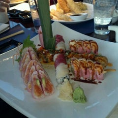 Photo taken at Umi Japanese Fine Dining by Krista W. on 1/31/2012