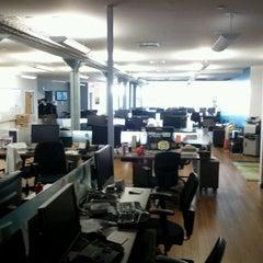 Photo taken at foursquare HQ by Ryan W. on 9/26/2011
