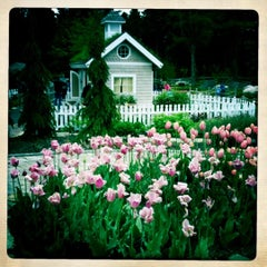 Photo taken at Coastal Maine Botanical Gardens by Emily R. on 10/8/2011