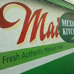 Photo taken at Mai Mexican Kitchen by Sebastian M. on 3/31/2011