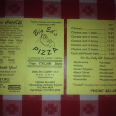 Photo taken at Big Ed's Pizza by Jeremy H. on 12/21/2011