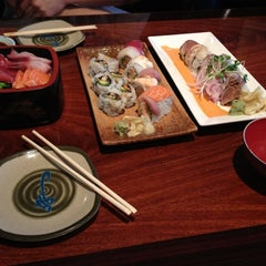 Photo taken at Sushi Tomi by Stanley W. on 6/23/2012