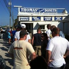 Photo taken at Thomas Donut & Snack Shop by Scott F. on 7/19/2011