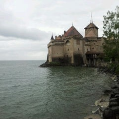 Photo taken at Château de Chillon by Timur Z. on 5/12/2012