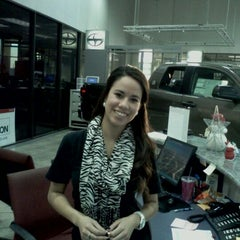 Photo taken at San Marcos Toyota by Maria E. on 12/22/2011