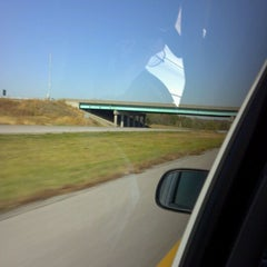 Photo taken at I-435 by Kailee M. on 10/21/2011