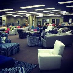Photo taken at Norwalk Furniture by Aja Mae on 2/13/2012