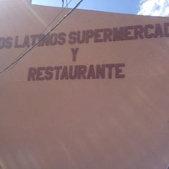 Photo taken at Los Latinos Super Market And Restaurant by Kurt P. on 3/1/2012