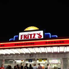 Photo taken at Fritz's Frozen Custard by Jordan H. on 6/14/2012