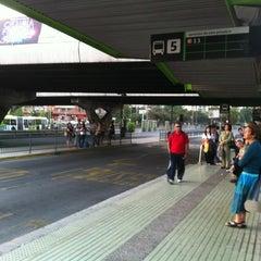 Photo taken at Paradero PC876 (Parada 5) by Pablo R. on 1/3/2012