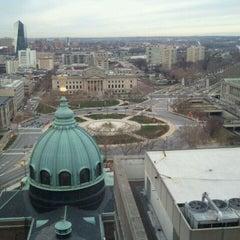 Photo taken at Sheraton Philadelphia Downtown Hotel by Scott on 1/9/2012