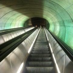 Photo taken at Dupont Circle Metro Station by Chris D. on 8/28/2011