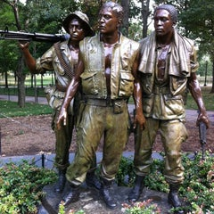 Photo taken at Vietnam Veterans Memorial by Eric P. on 8/10/2012