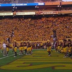 Photo taken at Sun Devil Stadium by Dan T. on 9/2/2011