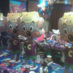 Photo taken at Chuck E. Cheese's by Sarah M. on 1/16/2012