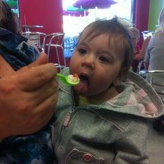 Photo taken at Ella's Frozen Yogurt by Kathy W. on 4/18/2012