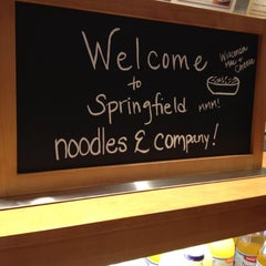 Photo taken at Noodles & Company by Whitney Z. on 4/2/2012