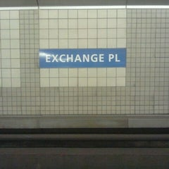 Photo taken at Exchange Place PATH Station by The Official Khalis on 8/18/2011