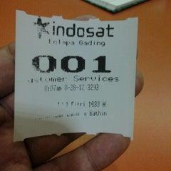 Photo taken at Galeri Indosat by Dandun W. on 8/28/2012